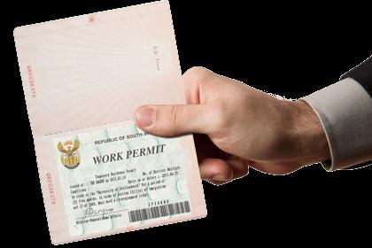 Holding a valid Work Visa permit