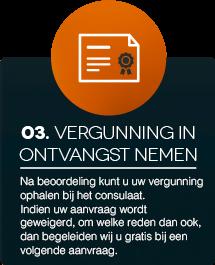 Vergunning in ontvangst nemen Visa Immigration Netherlands